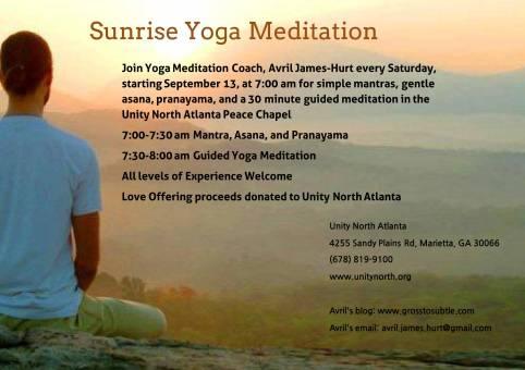 Sunrise Yoga Meditation