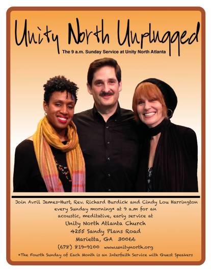 Unity North Unplugged Poster