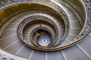 Spiral Staircase Queens House UK www bamorama com